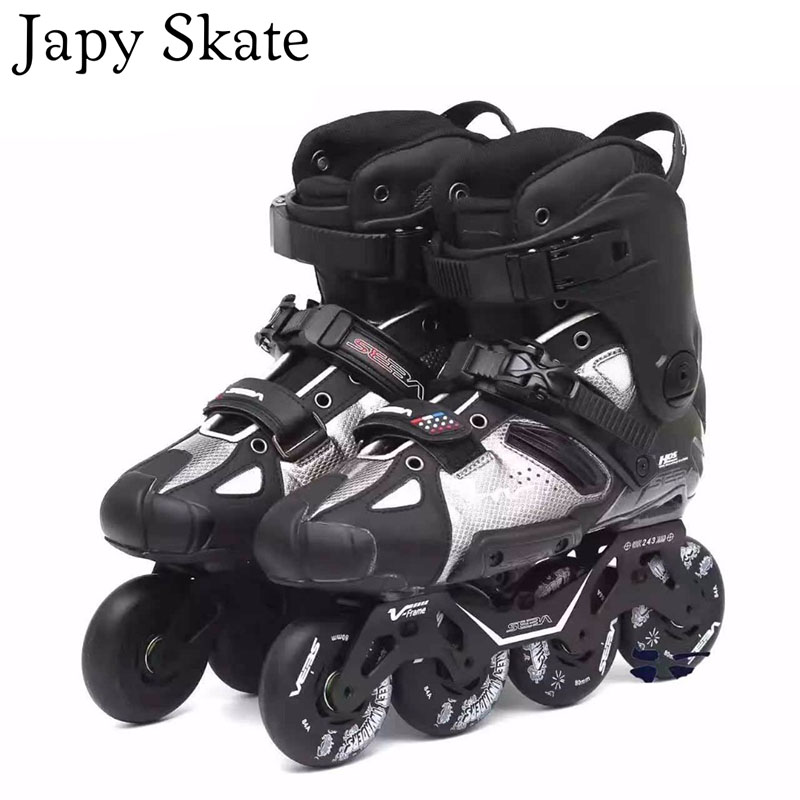 Japy Skates 100 Original SEBA HV SEBA High Adult Inline Skates Roller Skating Shoes Slalom Sliding