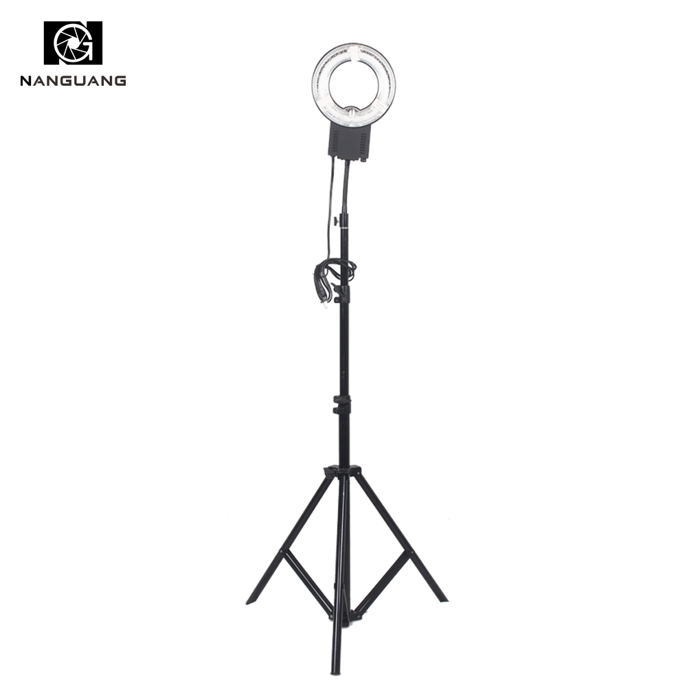 22W 5600K  Ring Lamp Light +200CM Stand for Small Objects Shooting Portrait Make-up Lighting22W 5600K  Ring Lamp Light +200CM Stand for Small Objects Shooting Portrait Make-up Lighting