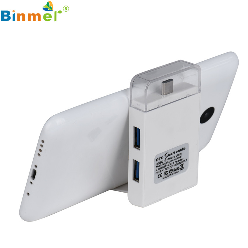 USB 3.1 Type C Male to Micro USB Female Adapter Converter Connector For Macbook Lettore di schede lecteur de carte Silver SP26