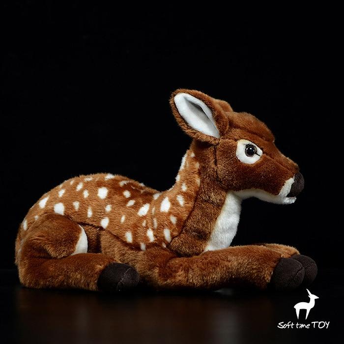 Большие куклы настоящая жизнь плюшевый олень мягкие игрушки Детский подарок подушка большая игрушка мягкая - 2