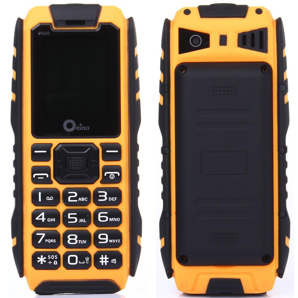 IP67 Rugged Waterproof Phone Power Bank Dual Sim Card Original xp7 GSM Senior old man Mobile
