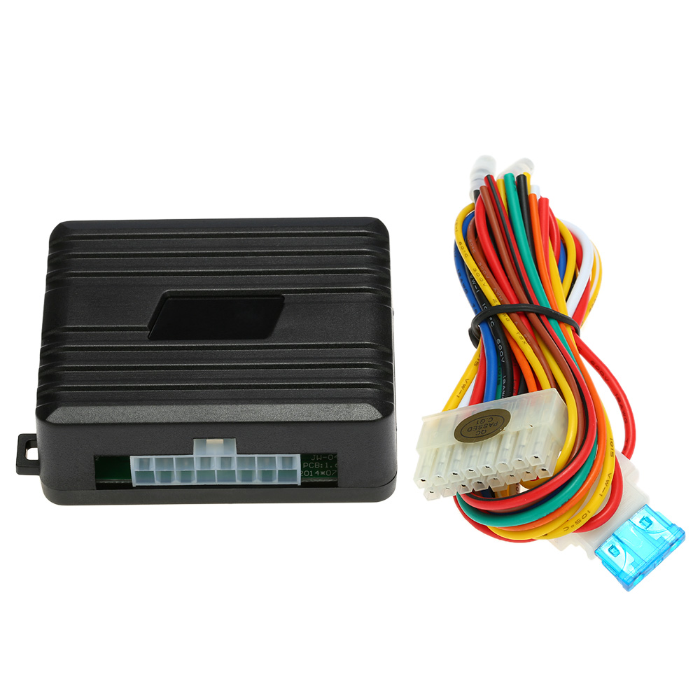 Vankcp Window Closer,Car Alarm Security System Universal Auto Power Window Roll Up Closer Module for 4 Door Cars Dc 12V