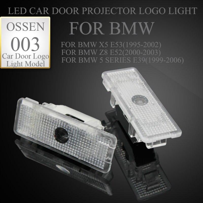 2X LED Avtomobil Qapı Proyektoru BMW E39 X5 E53 Z8 E52 5 seriyalı - Avtomobil işıqları - Fotoqrafiya 2