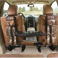 Front Seat Storage Gun Sling Bag Car Seat Back Shotgun Rifle Rack Case Hunting Gun Holsters