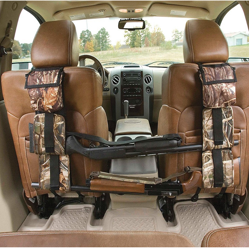 Gun Case Bag Holsters Front Seat Storage Gun Sling Bag Car Seat Back Shotgun Rifle Rack Hunting Bags Pistols Organier Pockets
