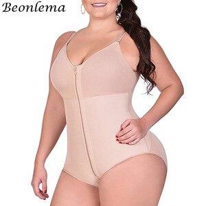 Image 3 - Beonlema Vrouwen Plus Size Bodysuit Sexy Vormgeven Ondergoed Butt Lifting Taille Trainer Slanke Shapewear Hip Enhancer Tummy Shapers