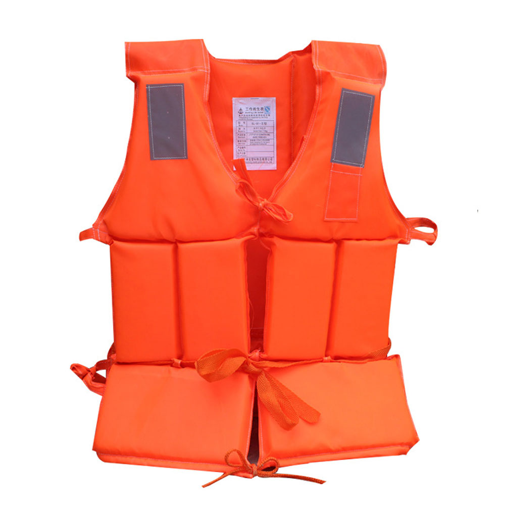 Inflatable life jacket swiming fishing life vest rescue for Inflatable fishing vest