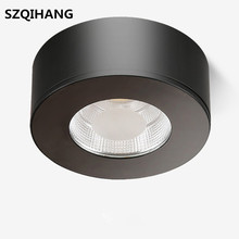 Surface Mounted LED Downlights 5W 7W 10W LED Ceiling Down Lamp Kitchen Bathroom LED COB Downlights Lamp AC85-265V цена 2017