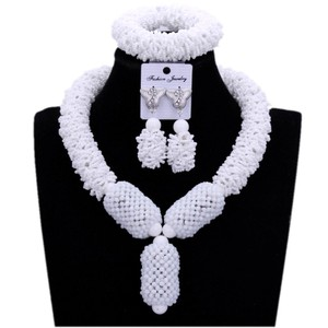 Image 4 - Purple Fine Jewelry Sets For Women Gold Color Balls African Set Jewelry Nigerian Wedding Beads Sets Free Shipping 2018 Fashion