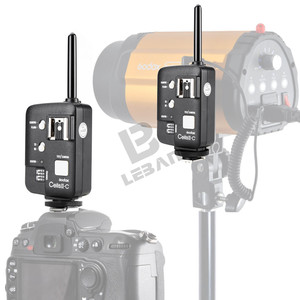 Image 5 - 2x Godox Cells II Wireless Speedlite Flash Transceiver Trigger High Speed For Canon EOS Cameras