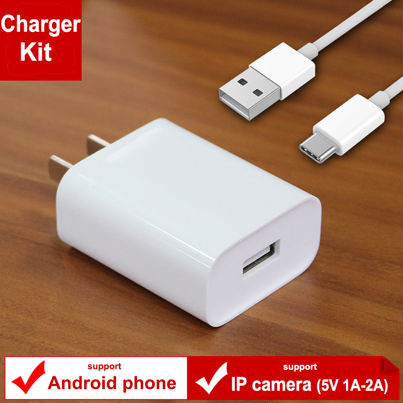 ip camera XIAOMI Charger adapter 5V 1A White Power Adapter + Micro USB Data sync Cable for Redmi 4 4A 4X Note 3 4 4X 5 xiao Mi кроватка трансформер овальная valle mimi 6 в1 маятник поперечный белая va9301