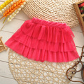 New Girl's Lovely Tutu Cake Skirts Colorful Dance Party Princess Skirt