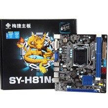 Новый оригинальной аутентичной компьютерные платы для Soyo SY-H81N полный твердое Издание (h81 твердотельные)