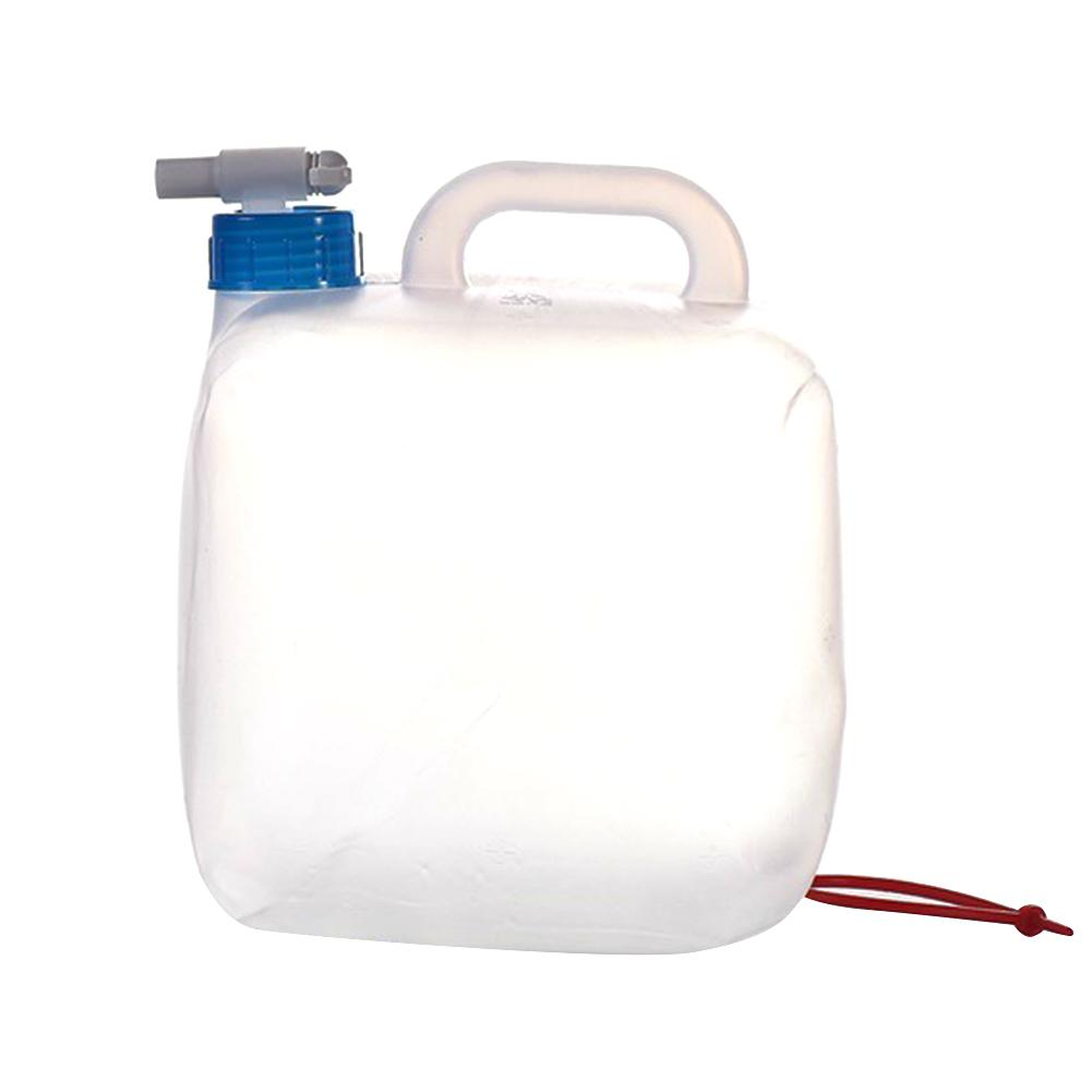 Water Canister Foldable 5L + 10L Portable Water Container Water Tank Drinking Water BPA Free Odourless Water Storage Bag for Car Emergency Outdoor Hiking Camping Picnic Travel BBQ