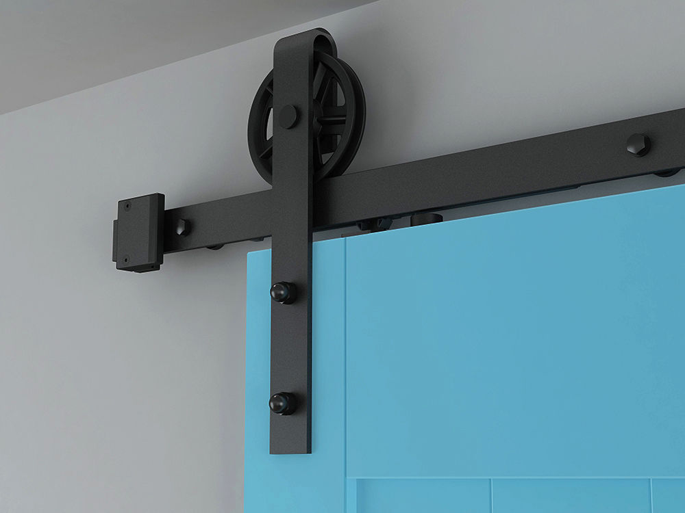 Aliexpress Buy Diyhd 8ft Two Side Soft Close Barn Door