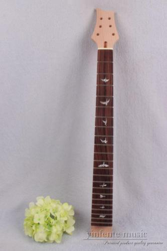 One electric guitar neck 22 fret 25.5 inch Mahogany rosewood Fretboard#760 wholesale cnbald 6 string guitar fdr str electric guitar rosewood fretboard 3 pickups in cream 130516