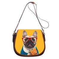 FORUDESIGNS Kawaii Dog Women Messenger Bags,Mini Crossbody Bags for Womens 2017 Red Small Cross Body Shoulder Bags Girls Brand