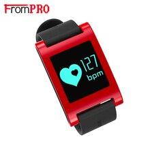 FROMPRO DM68 Sprots смарт Часы IP67 Здоровый Фитнес-Трекер Браслет Сердечного ритма Монитор Сна Браслет для IOS Android xiaomi