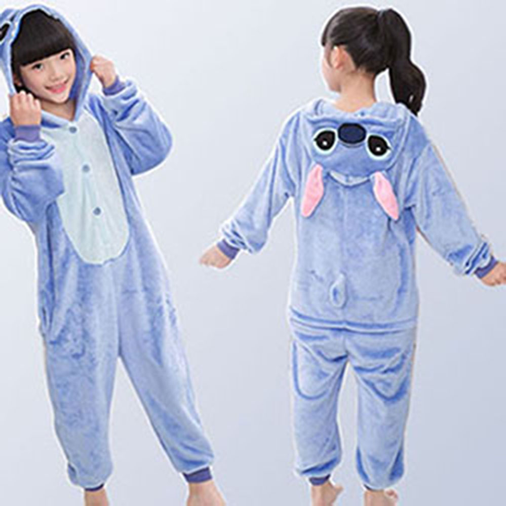 75d208080 2019 Kigurumi Children Unicorn Pajamas Stitch Panda Onesies Boys Girls  Sleepwear Winter Pajamas Flannel Animal Kids Onesie 4-12 - aliexpress.com -  imall.com
