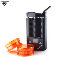 Mighty mod комплект для сухой травы испаритель отличная работа батарея питание температура регулируемый пара наборы электронных сигарет