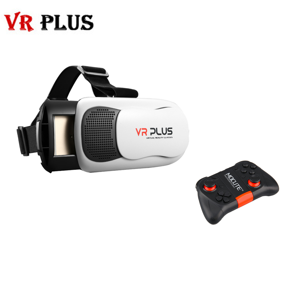3D VR BOX Pro 3 0 VR PLUS III Leather Version with Real Coating Glass Lens