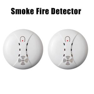 Image 2 - מעורר חיישנים אלחוטי אש עשן גלאי עבור אבטחת בית אזעקה מערכת בחנות שלנו עשן חיישן מעורר
