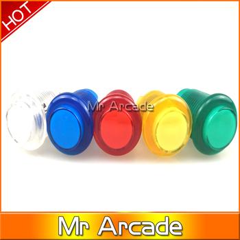 5 v LED light przycisk Arcade 28 24mm średnica otworu 5 v Led lekki przycisk do puszka pandory 6 gra zręcznościowa szafka tanie i dobre opinie Pchacz 3 lat led push button 28mm
