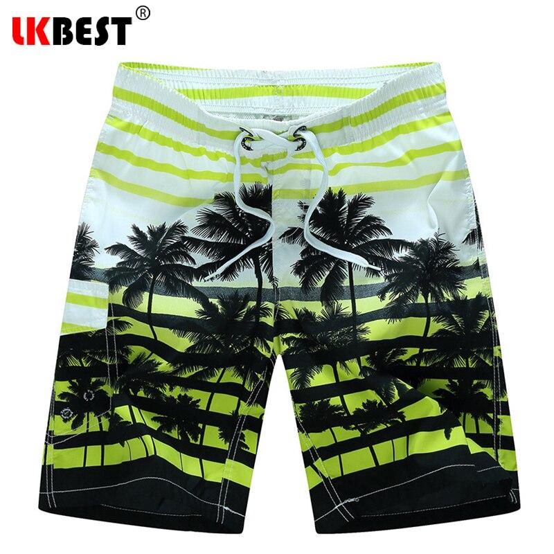 LKBEST Sommer plus Größe M-6XL Mens Strand Shorts elastische Taille - Herrenbekleidung - Foto 1