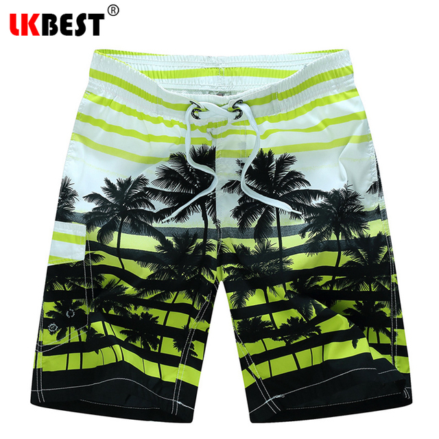7f3659f95f5 LKBEST Summer plus size M-6XL Mens Beach Shorts Elastic Waist loose Men  Board shorts Quick Dry Bermuda swimwear trucks 1525