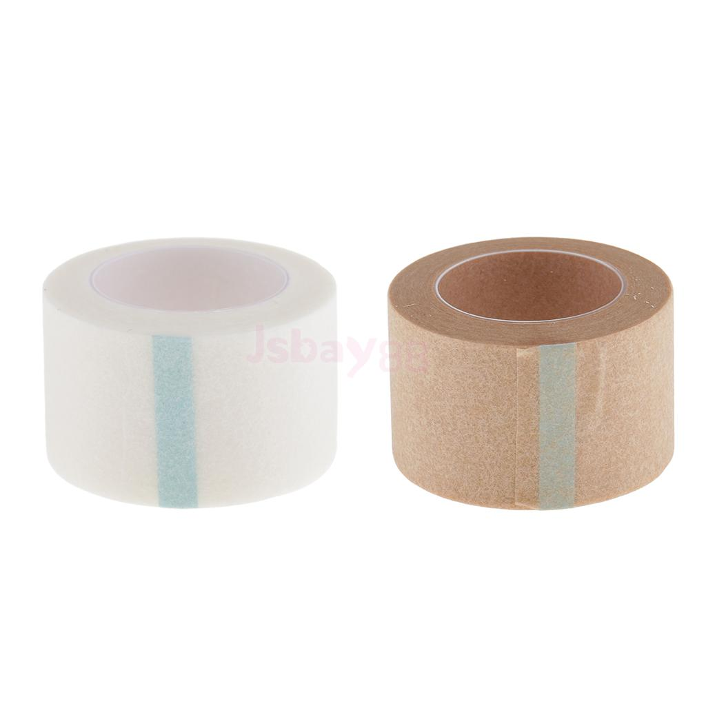 2.5cm Adhesive Tape Micropore Paper for Eyelashes Extensions Semi Permanent ...
