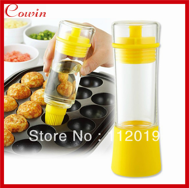 Incroyable Free Shipping NEW Kitchen Oil Can Save Oil Bottle Pot Container Anti Oil  Leak With Silicone Oil Brush Kitchen BBQ Tool  In Cooking Tool Sets From  Home ...