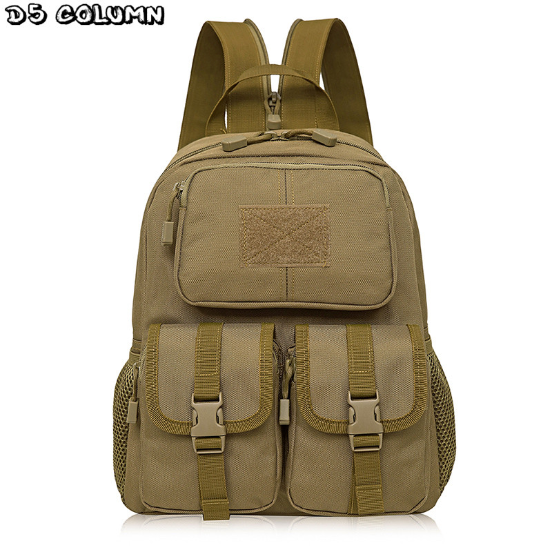 Tactics Backpack Mountaineering Nylon Waterproof Military Shoulder Bag Men Laptop Backpacks High-quality Camouflage Bag купить