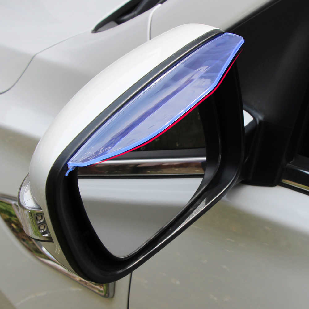 Belakang cermin hujan alis sun block captur air untuk Renault Koleos FLUENCE SCENIC MEGANE Talisman FRENDZY