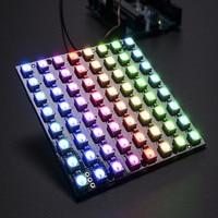 New Arrival Full Colorful CJMCU 64 Bit WS2812 5050 RGB LED Driver Development Board