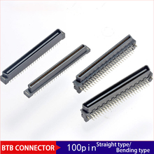 10pcs PC Industrial Computer 100pin Connector HDMI Signal 1.27/2.54mm Board to Board Connector Straight / Bent Needle цена и фото