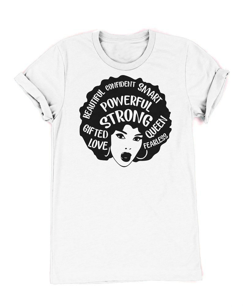 Instant Message Strong and Smart Like Mom Toddler Short Sleeve Tee