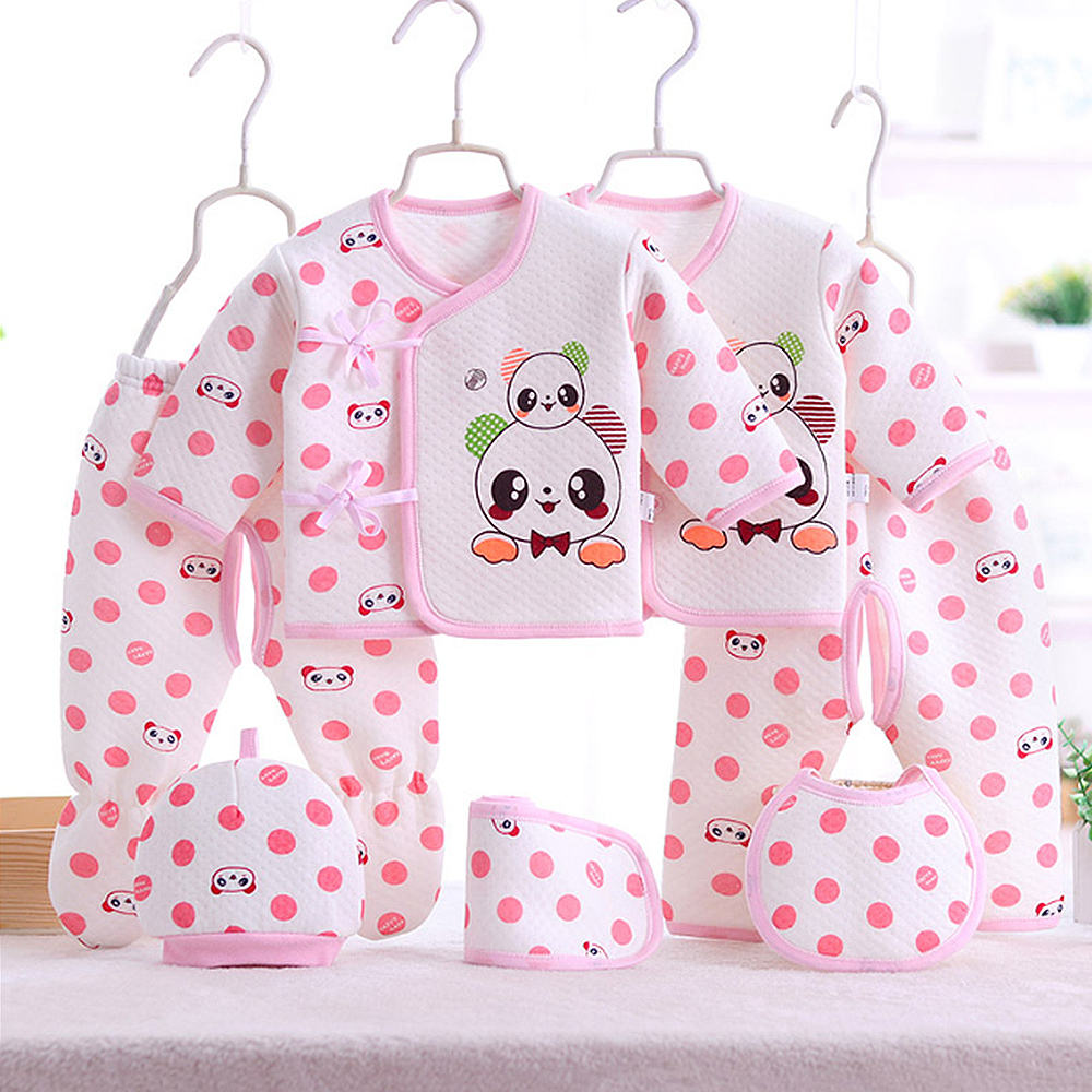 Cotton Newborn Material Baby Clothes Full Kits For Kids Cotton Material Baby Boy Girl Warm Clothes