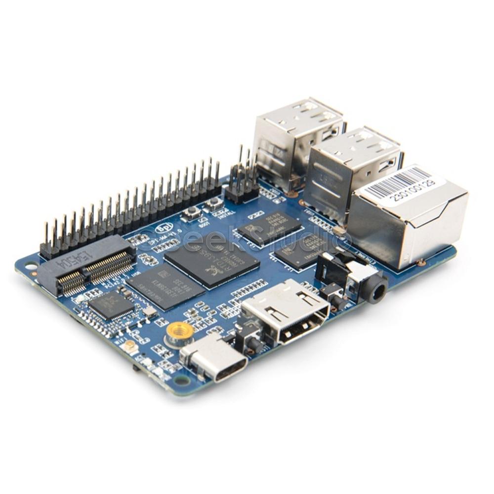 Banana Pi M4 BPI-M4  Realtek RTD1395 ARM 64 Bit Board Quad-core A53 Mini Single Board Computer