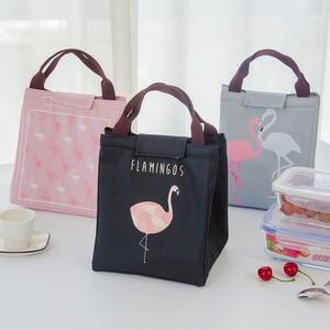 Flamingo Food Storage Bag Insu