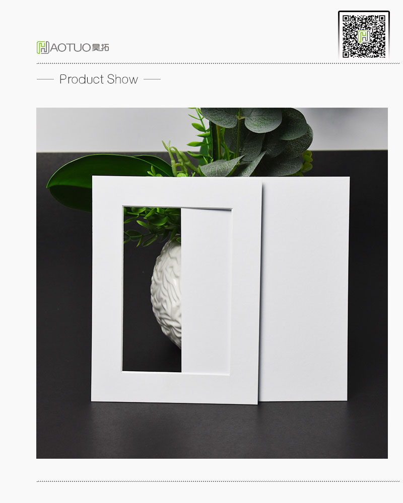 Photo easel mat with pure white core 45 degree bevel cut for 5x7 haotuo photo frame high quality pure white core paper wall hanging frame for picture wedding decoration frame pack of 5 ht 521 jeuxipadfo Choice Image