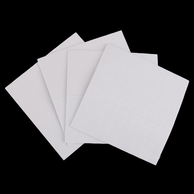 New Hot Sale 4 Sheet DOUBLE SIDED ADHESIVE FOAM PADS STICKY FIXERS FOR CARD MAKING 1/2/3mm Festival Party Supply Home Decoration