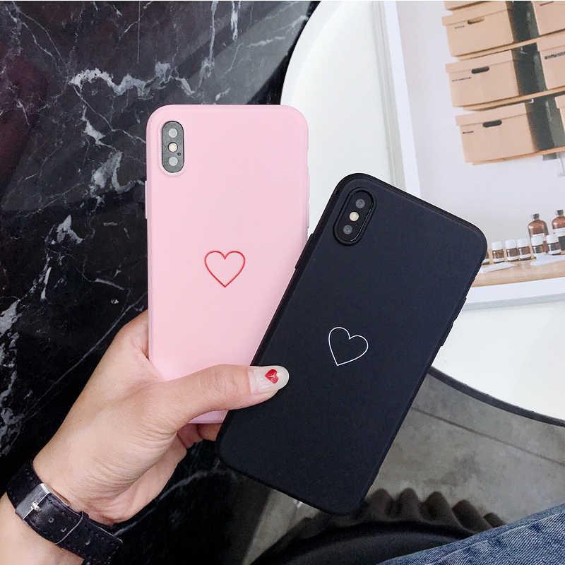 XINDIMAN 2019 電話 iphone7 ため Coque ケース黒ピンク硬質 Pc iphone6 6 s 6 プラス 7 プラス iphoneXSMAX ケース × XR 8 プラス 5 4s ケース