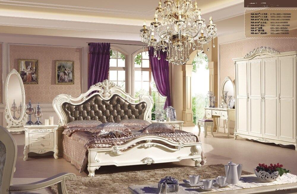 modern solid wood bedroom set