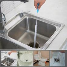 Аксессуары для ванной и кухни, дренажная щетка для чистки канализации, домашняя гнущаяся раковина, ванна, туалет, Драг, труба, змея