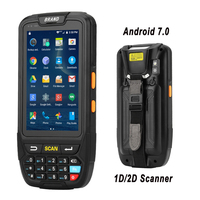 4G Handheld PDA Android 7.0 POS Terminal Touch Screen 1D 2D Barcode Scanner Wireless Wifi Bluetooth GPS Barcode Reader