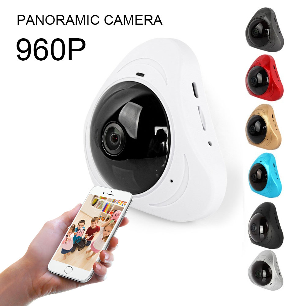 360 Degree Fisheye Panoramic Camera HD Wireless VR Panorama HD IP camera P2P Indoor Cam Security WiFi Camera 1280*960360 Degree Fisheye Panoramic Camera HD Wireless VR Panorama HD IP camera P2P Indoor Cam Security WiFi Camera 1280*960