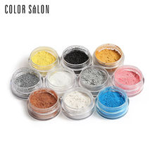 Color Salon Natural Eye Shadow Shimmer Powder Eyeshadow Pigment Highlight Face Makeup Palette Brand Diamond Powder