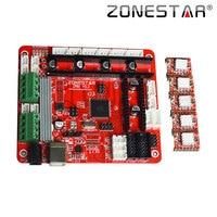 Zonestar Reprap 3D Printer Controller Board Motherboard ZRIB Compatible with RAMPS 1.4 Control Mendel i3 ATMEGA 2560