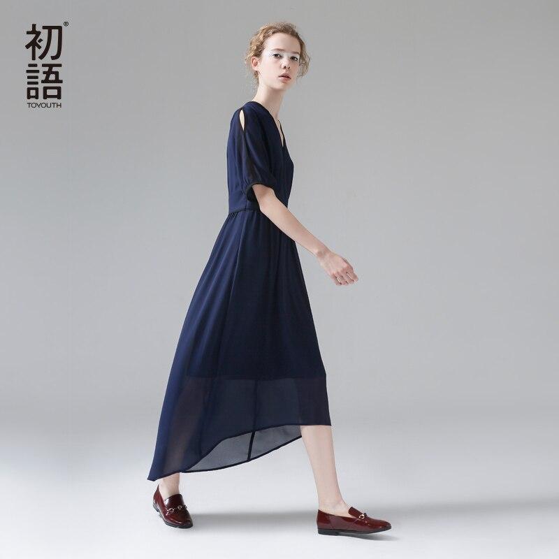 ассиметричное платье доставка из Китая