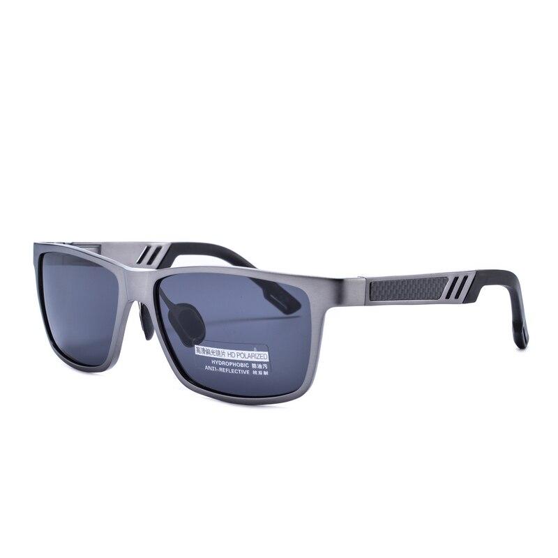 Sunglasses Men Coated Mirrors font b Sports b font Round Aluminum Alloy Frame Wayfarer UV400 Black
